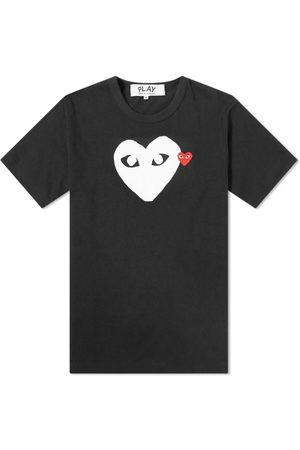Comme des Garçons Comme des Garcons Play Double Heart Logo Tee