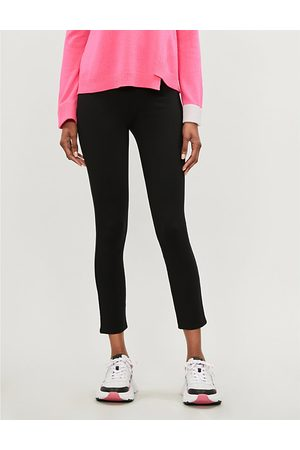Spanx Jean-Ish high-rise stretch-ponté leggings