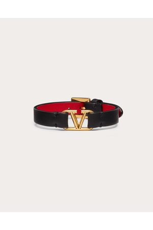 VALENTINO GARAVANI Women Bracelets - Vlogo Bracelet Women Calfskin 100% OneSize