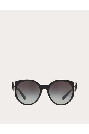 VALENTINO Women Sunglasses - Color-block Oval Frame Acetate Sunglasses Women OneSize