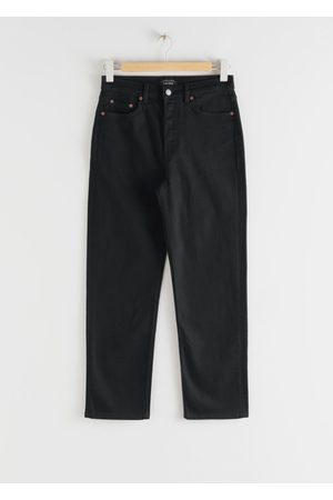 & OTHER STORIES Straight High Rise Stretch Jeans