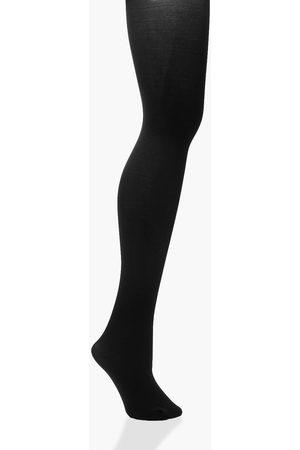 Boohoo Women Stockings - Womens 100 Denier Shaper Tights - - S/M