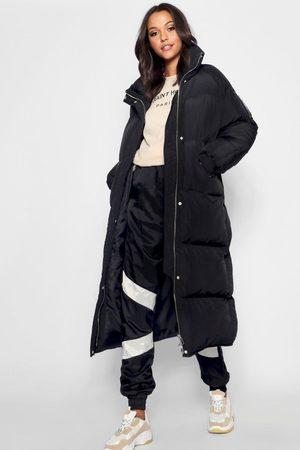 Boohoo Womens Tall Longline Padded Coat - - 2