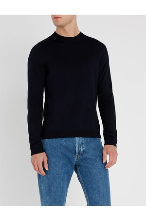 Sandro Men Sweaters - Crewneck merino-wool jumper