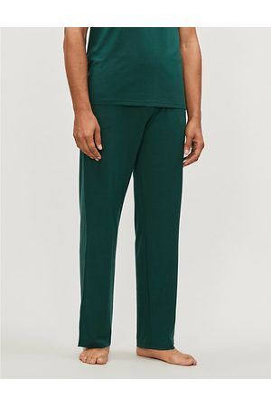DEREK ROSE Basel stretch-jersey casual trousers