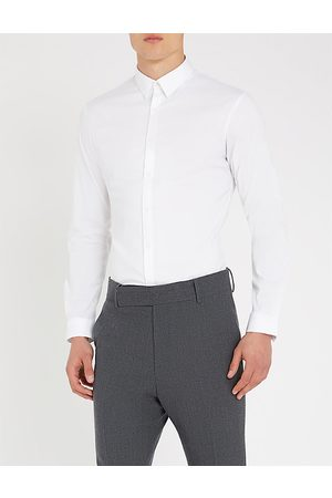 Sandro Regular-fit stretch-cotton shirt
