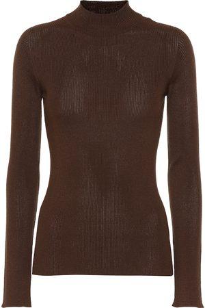 The Row Sulli silk and cotton sweater
