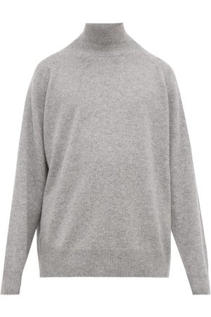 Raey Loose-fit Funnel-neck Cashmere Sweater - Mens - Grey