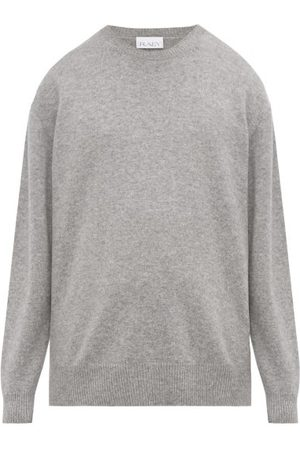 Raey Loose-fit Crew-neck Cashmere Sweater - Mens - Grey