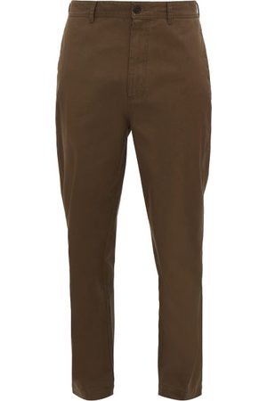 Raey Men Chinos - Tapered Cotton Chino Trousers - Mens