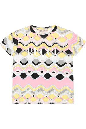 Emilio Pucci Printed stretch-cotton T-shirt
