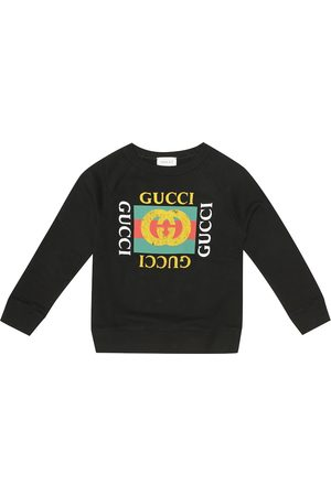 Gucci Logo cotton-jersey sweatshirt