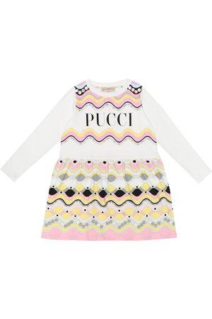 Emilio Pucci Printed stretch-cotton dress
