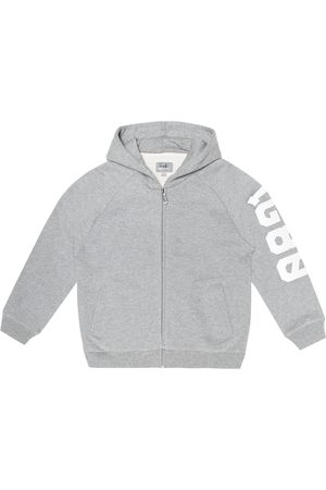 Il gufo Printed cotton hoodie