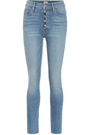 Mother The Fly Cut Stunner skinny jeans