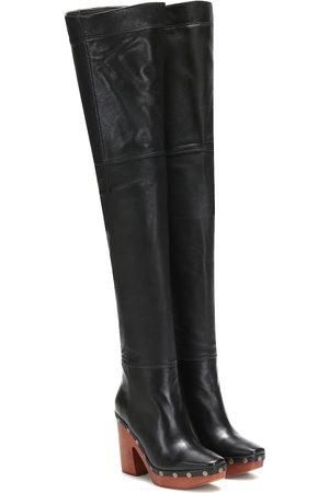 Jacquemus Les Bottes Sabots Hautes leather boots