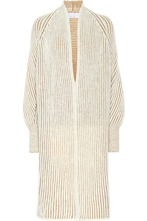 Chloé Ribbed wool-blend cardigan