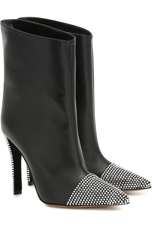ALEXANDRE VAUTHIER Christie leather ankle boots