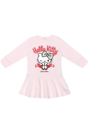 MONNALISA X Hello Kitty baby stretch-cotton dress