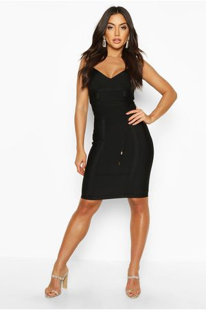 Boohoo Womens Boutique Bandage Tie Detail Mini Dress - - 4