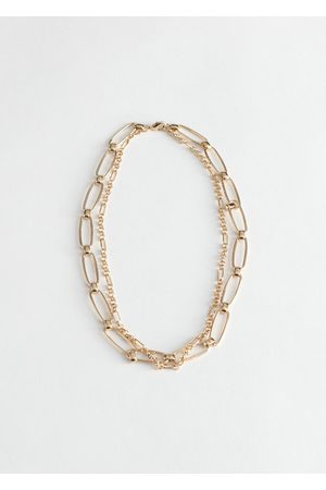 & OTHER STORIES Duo Chunky Chain Necklace