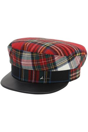 DON Wool Tartan Sailor Cap
