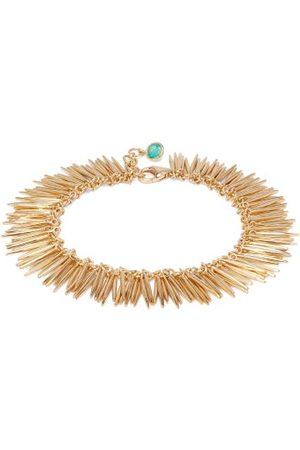Ileana Makri Grass Leaves 18kt Bracelet - Womens