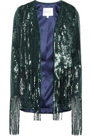 GALVAN Winter Jungle sequined jacket