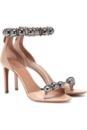 Alaïa Bombe leather sandals