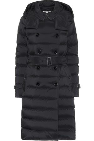 Burberry Double-breasted puffer coat