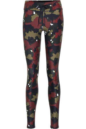 The Upside Jungle Yoga camo-print leggings