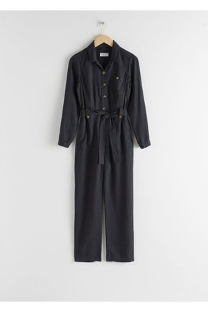 & OTHER STORIES Lyocell Belted Jumpsuit