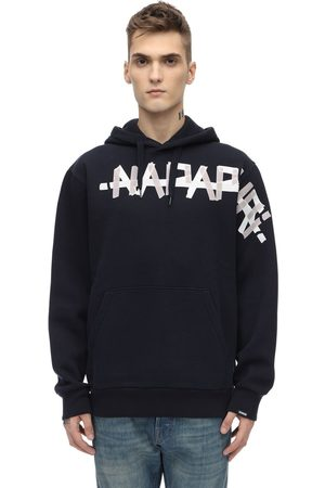 Napapijri Loose Fit Cotton Blend Sweatshirt Hoodie
