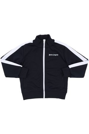 Palm Angels Zip-up Techno Sweatshirt