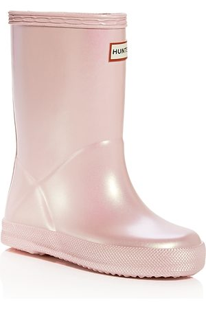 Hunter Girls' Original First Classic Nebula Rain Boots - Walker, Toddler