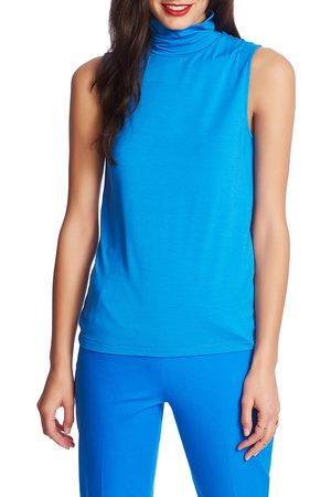 Court & Rowe Women's Sleeveless Turtleneck Top