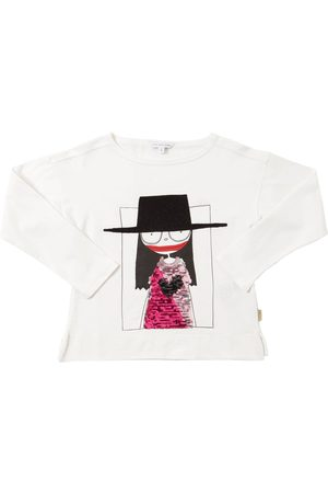 Marc Jacobs Sequined Cotton Jersey T-shirt