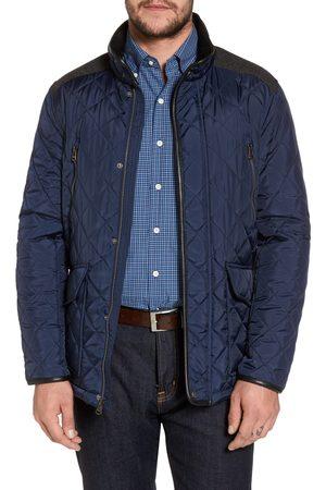 Cole Haan Men's Herringbone Yoke Quilted Jacket