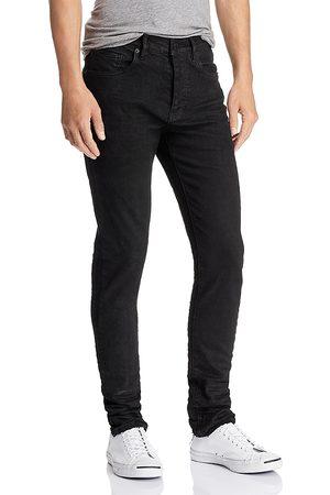 Purple Brand 3-d Resin Skinny Fit Jeans in Repair