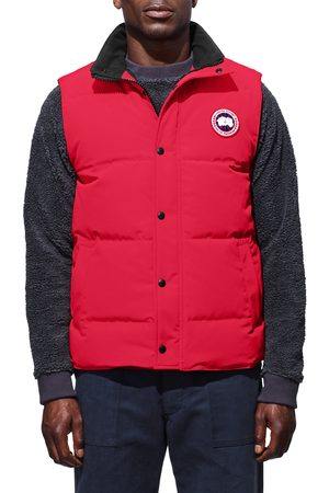 Canada Goose Men's Garson Regular Fit Quilted Down Vest