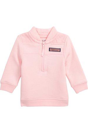 Vineyard Vines Infant Girl's Quarter Zip Pullover
