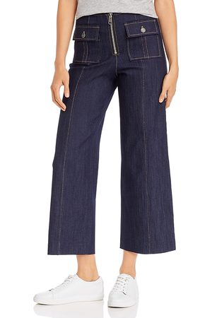 Cinq A Sept Women Jeans - Cropped Azure Jeans in Indigo