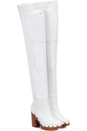 Jacquemus Les Bottes Sabots leather boots