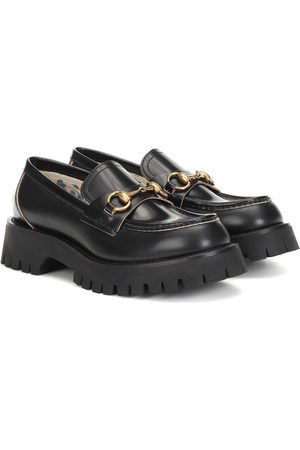 Gucci Women Loafers - Horsebit leather loafers