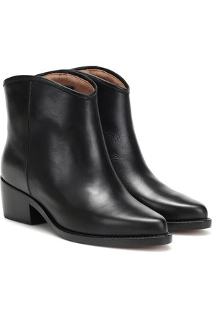 Legres Western Low leather ankle boots