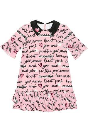 MONNALISA Printed jersey dress