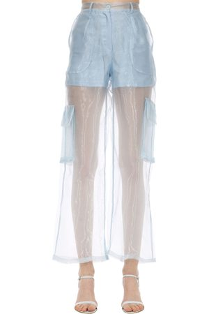 Aéryne Women Pants - Penion Organza Pants