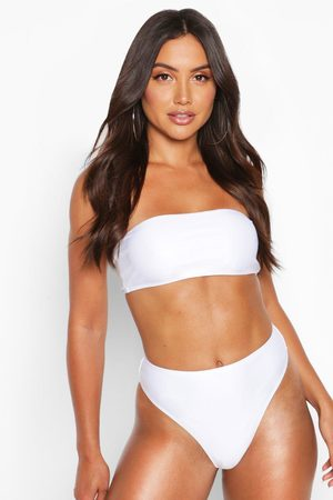 Boohoo Womens Mix & Match High Waisted Bikini Brief - - 2