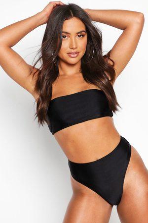 Boohoo Womens Mix & Match Bandeau Bikini Top - - 2