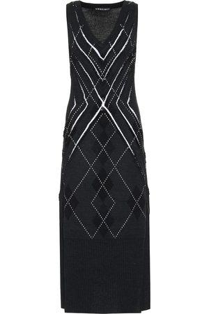 Y / PROJECT Wool-blend midi dress